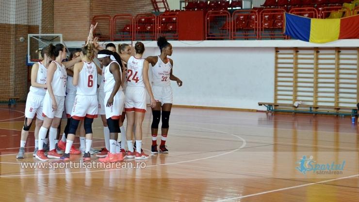 Baschet | CSM Satu Mare a câștigat la Cluj și s-a calificat în semifinalele LNBF