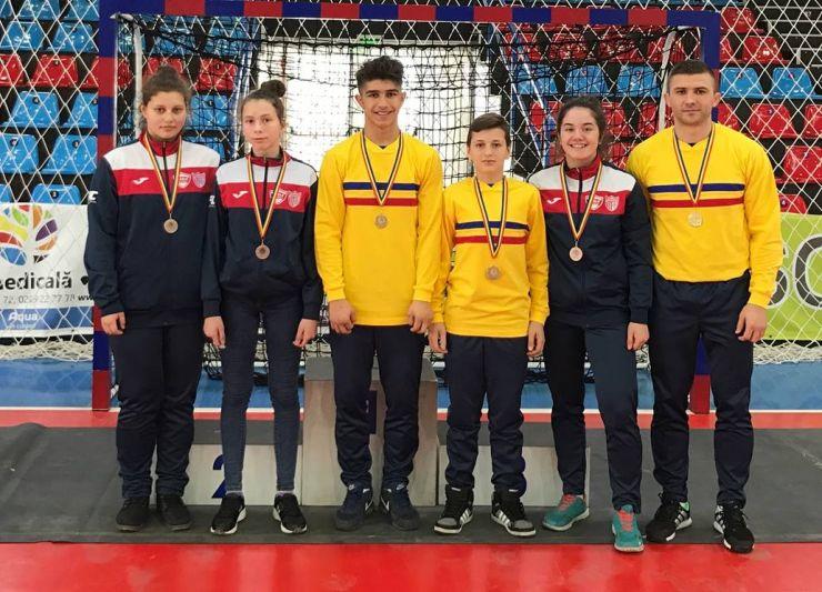 Judo | Medalii de aur și bronz pentru sportivii de la CSM Fușle Security Satu Mare, la CN de Judo pentru juniori