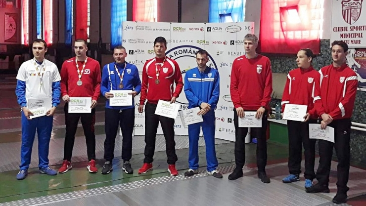 Spadă | Adrian Szilagyi, medalie de bronz la Campionatul Național