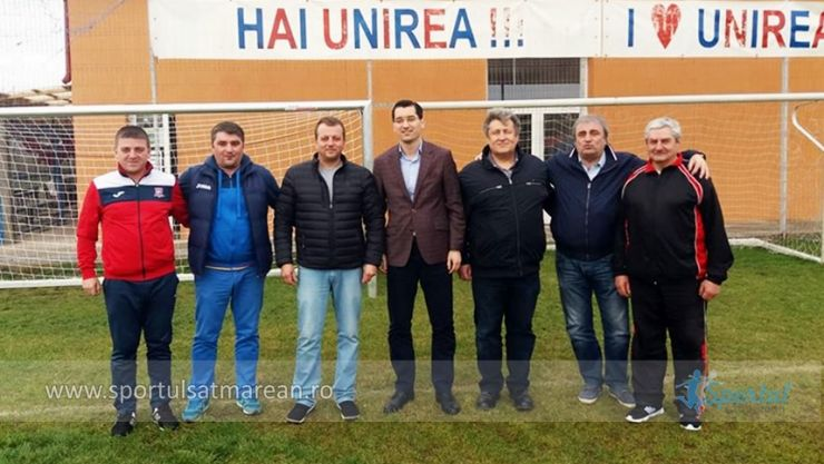 Alegeri FRF | Răzvan Burleanu, în vizită la Unirea Tășnad