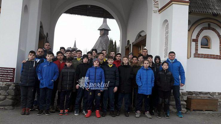 Cantonament reuşit pentru grupa 2004 a Someșului Satu Mare