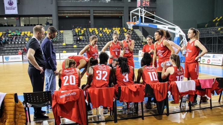 Baschet | CSM Satu Mare a învins Phoenix Știința Constanța și s-a calificat în finala Cupei României