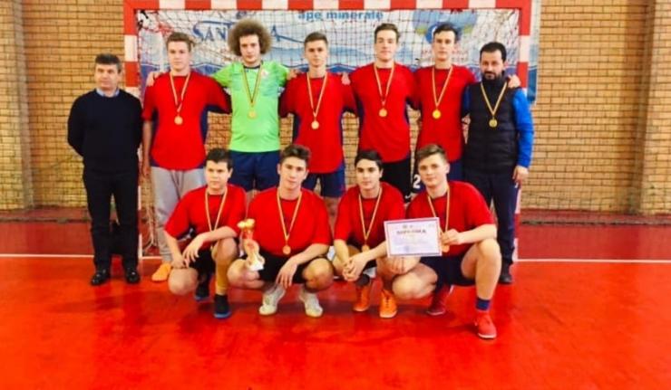 Handbal | Liceul Teoretic Carei a câștigat faza județeană a Cupei MEC la handbal masculin