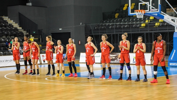 Baschet | CSM Satu Mare a pierdut primul joc al finalei cu Sepsi SIC Sf. Gheorghe