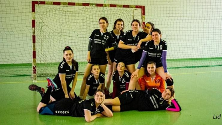 Handbal feminin | Liceul Tehnologic I.G. Andron s-a calificat la faza națională a Cupei MEC