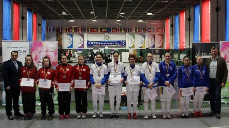 Ziua 4 | CSA Steaua a câștigat proba feminină pe echipe a Campionatului Național de floretă cadeți