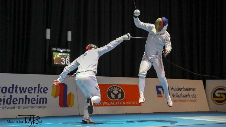 Spadasinii de la CSM Satu Mare, locul 5 la Cupa Campionilor Europei