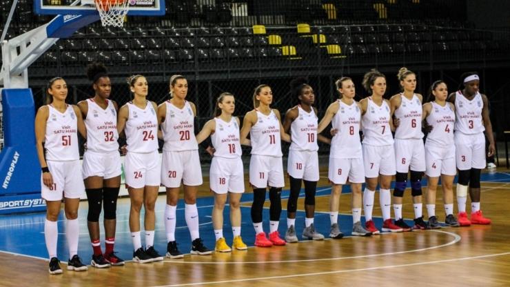 Baschet | CSM Satu Mare a pierdut și meciul doi al finalei cu Sepsi SIC Sf. Gheorghe