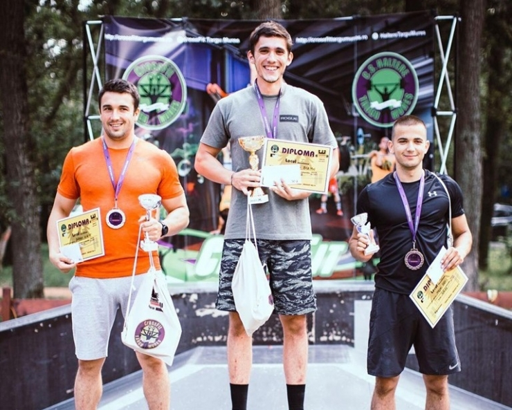 CrossFit | Vlăduț Bărbos, locul doi la Transylvania Throwdown - Târgu Mureș