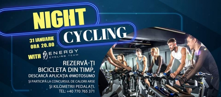 Eveniment | Energy Cycling Team te invită la NIGHT CYCLING