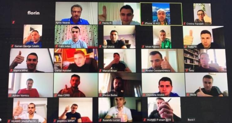 Istvan Kovacs a participat la un seminar online de pregătire teoretică pentru VAR