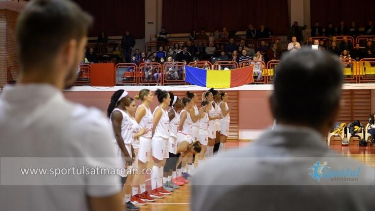 Baschet | CSM Satu Mare a învins Phoenix Constanţa în primul meci din faza a doua a LNBF