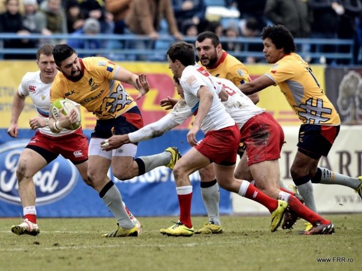 Rugby | România înfruntă Rusia, sâmbătă, la Botoșani