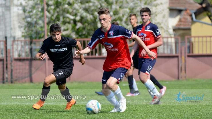 Juniori U16 | Victorie consistentă pentru Primavera în fața Viitorului Oradea