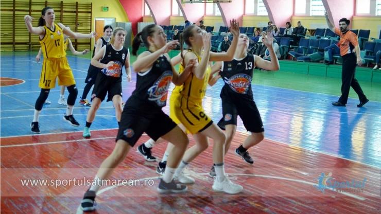 Baschet U18 | Victorie categorică pentru fetele de la LPS Satu Mare