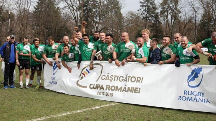 Rugby | CSM București a învins CSM Știința Baia Mare în finala Cupei României