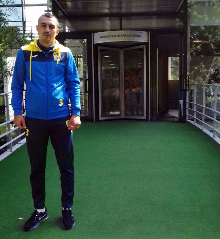 Cosmin Iuhas a obținut Licența B UEFA