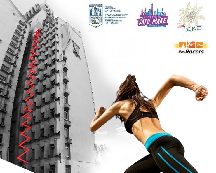 Sătmărenii sunt invitați să se înscrie la a treia ediție a Tower Run- Cursa Palatului