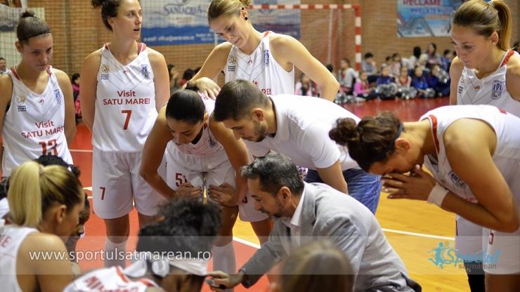 Baschet | CSM Satu Mare încheie anul cu o înfrângere la Târgoviște