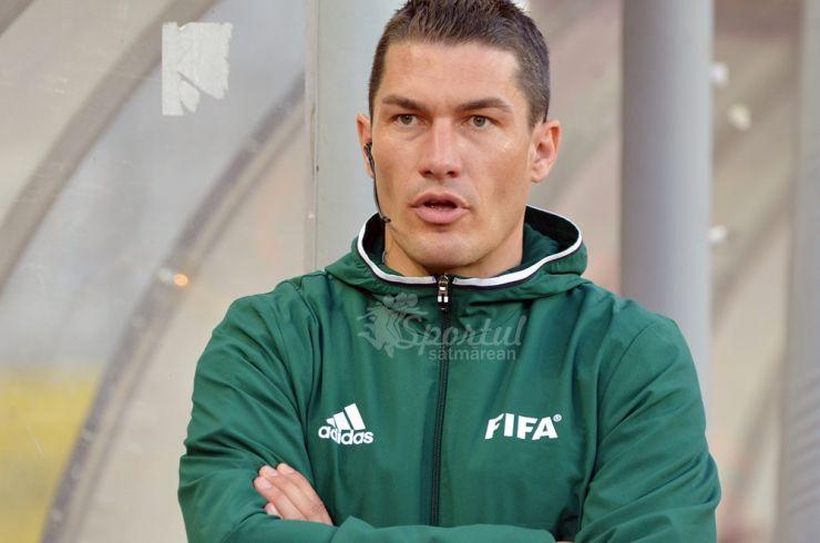 Istvan Kovacs va arbitra în șaisprezecimile Europa League
