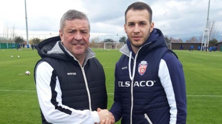Fostul portar al Olimpiei, Iulian Anca-Trip, s-a transferat în Liga 1