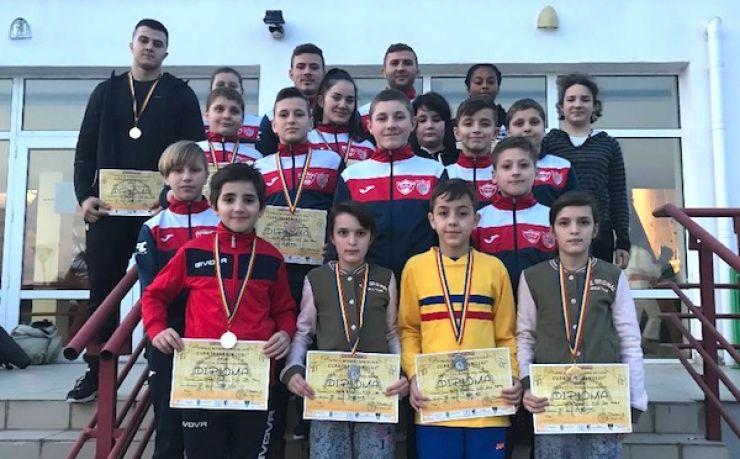 Judoka de la CSM - CS Fușle Security au câștigat 10 medalii la Cupa Severinului