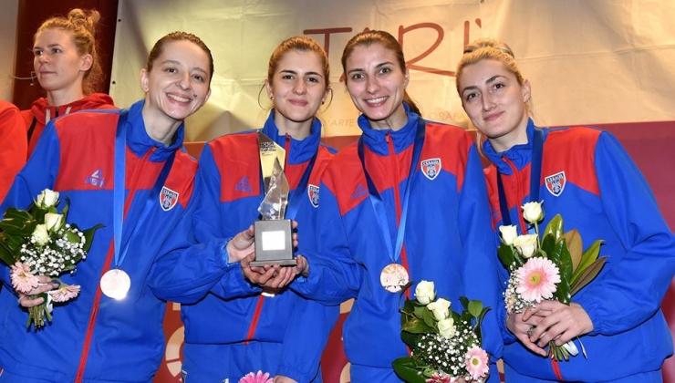 Spadă | Sătmăreanca Greta Vereș a câștigat medalia de bronz la Cupa Europei