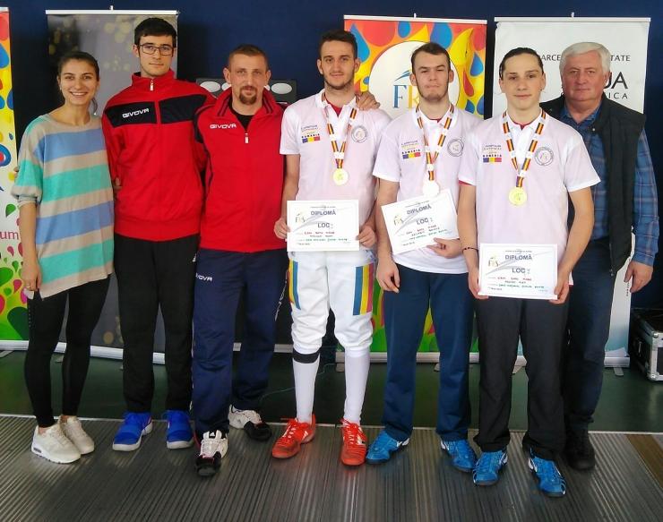 CSM Satu Mare a câștigat și întrecerea pe echipe de la Campionatul Naţional de spadă U20