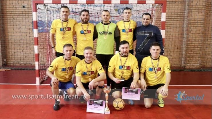 Primavera Satu Mare a câștigat și ediția a doua a Cupei Sportul Sătmărean - Old Boys