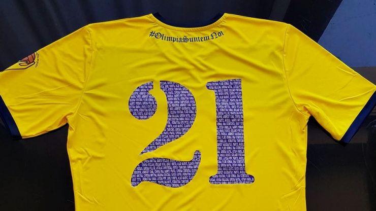Voluntarii Olimpiști au pregătit tricouri personalizate pentru suporterii Olimpiei