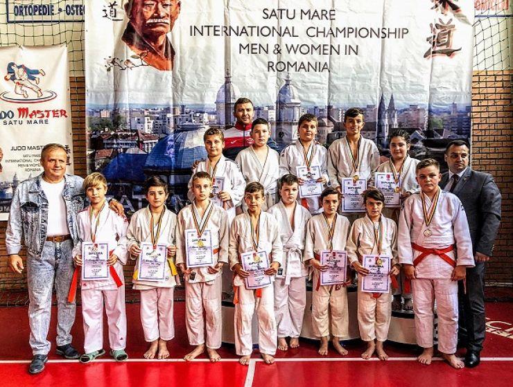 Cupa Satu Mare | Rezultate excelente pentru judoka de la CSM Satu Mare