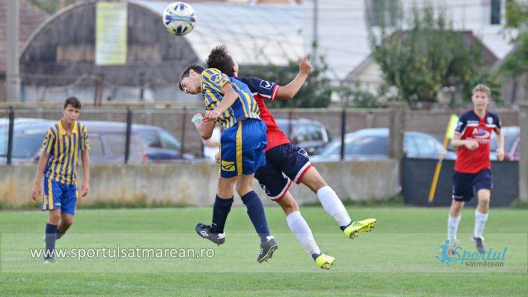 Juniori | LPS Satu Mare a câștigat derby-ul sătmărean din Liga Nord Vest U16