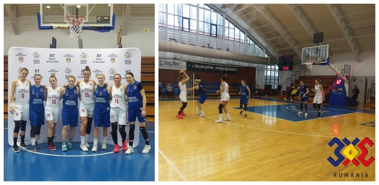 Baschet 3x3 | CSM Satu Mare a câștigat turneul 5 din Cupa României