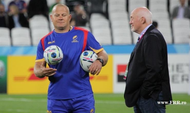 Rugby | Marius Tincu, antrenor interimar al naţionalei României, Lynn Howells - consultant tehnic din partea World Rugby