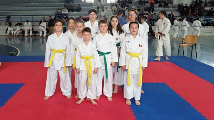 Karate | Sportivii de la Sakura Carei au obținut rezultate bune la Szatmar Kupa - Mátészalka