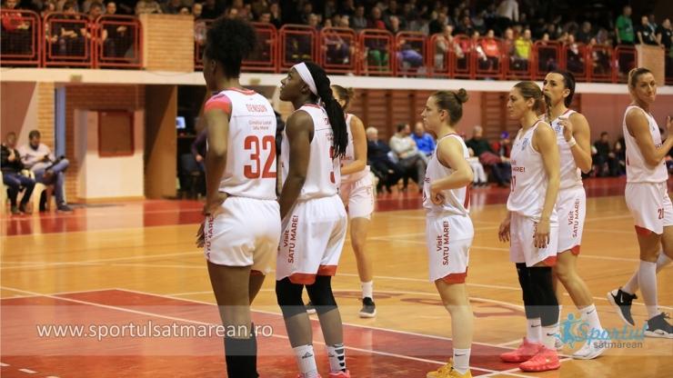 Baschet | CSM Satu Mare, victorie la 46 de puncte la Târgoviște