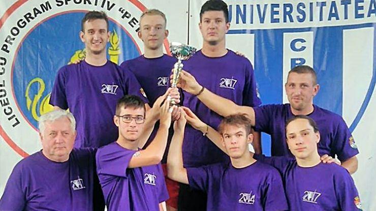 CSM Satu Mare a câștigat Cupa României la spadă masculin echipe - ediția 2018