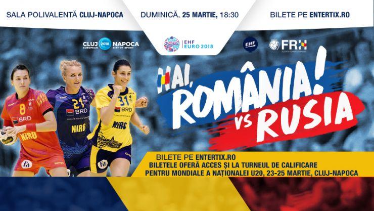 Handbal feminin | Ambros Martin a convocat 18 jucătoare pentru dubla cu Rusia din preliminariile Campionatului European - EURO 2018