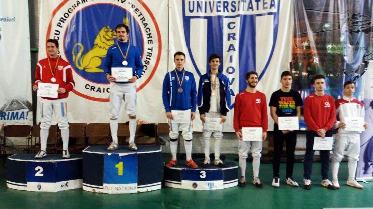 Spadă U23 | Ádám Mácska, vicecampion național în proba masculină la individual