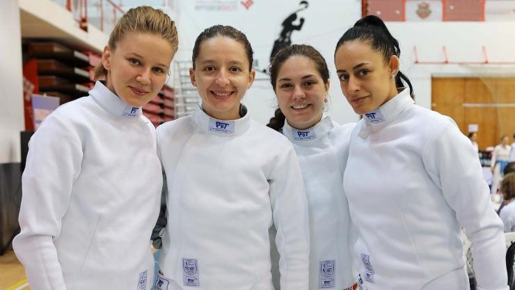 Spadă | Sătmăreanca Amalia Tătăran a participat cu echipa României la Cupa Mondială din Dubai
