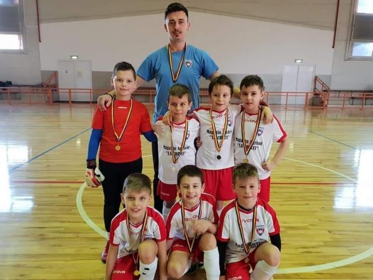 "Juniori | Primavera U8, locul 1 la ""Champions Cup"""