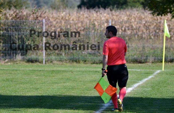 Cupa României | Programul și oficialii delegați la meciurile din optimi