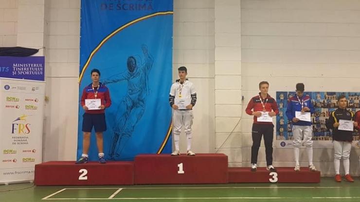 Spadă | Argint și bronz pentru sportivii de la CS Satu Mare la Campionatul Național de Speranțe – masculin, individual