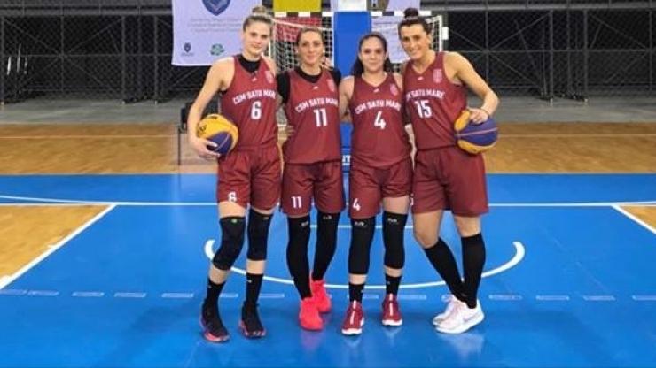 Baschet 3x3 | Două jucătoare de la CSM Satu Mare fac parte din lotul național olimpic