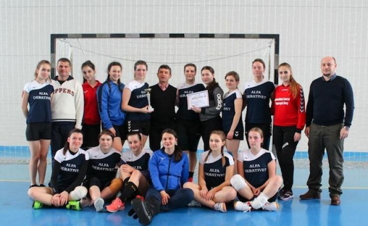 ONSS | Fetele de la Liceul Tehnologic Ioniță G. Andron Negrești au câștigat faza județeană la handbal