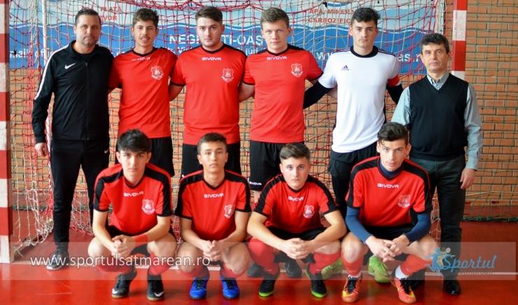 ONSS | LPS Satu Mare a câștigat faza județeană la fotbal băieți-liceu