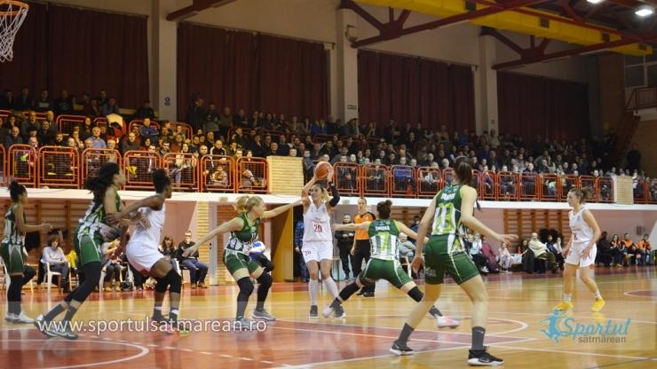 Baschet | Sepsi SIC Sf. Gheorghe învinge din nou CSM Satu Mare și câștigă grupa valorică A