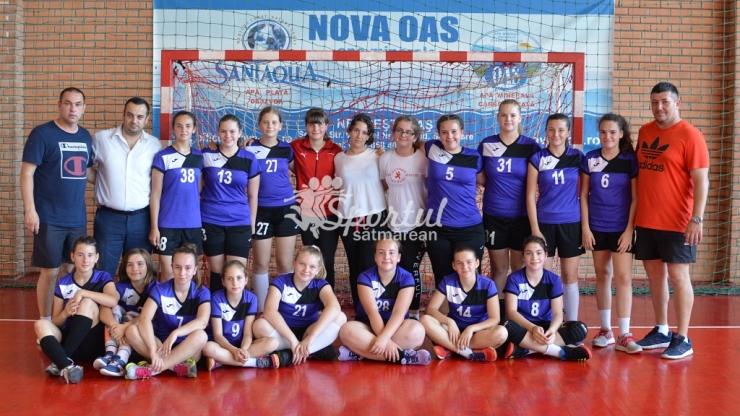 Handbal | Fetele de la Atletik Satu Mare au câștigat Campionatul Județean