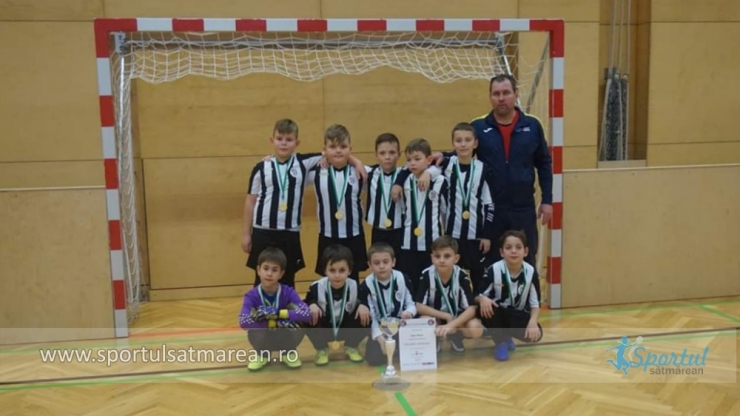 Juniori | Rezultate excelente pentru puștii de la Juventus Satu Mare, la Cupa Copacabana (Austria)