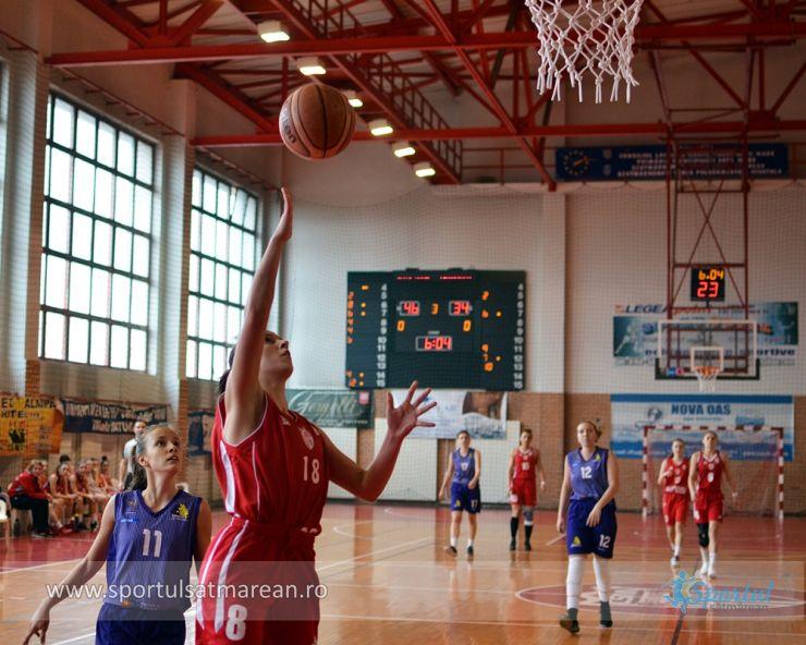 Baschet | CSM 2 Satu Mare a câștigat primul meci din acest sezon